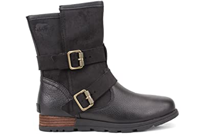 moto ankle boots. sorel women\u0027s major moto fold down casual ankle boot black 6 boots