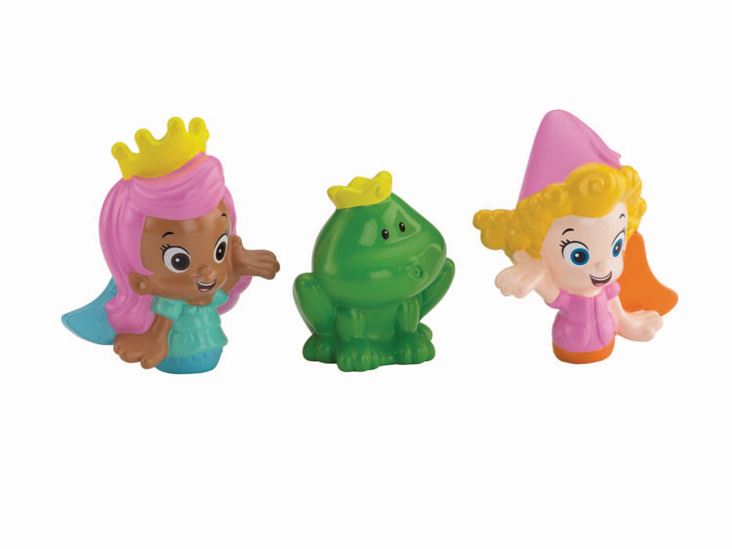 Fisher-Price Bubble Guppies, Molly, Deema and Frog Bath Squirters