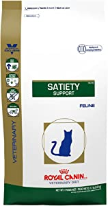 Royal Canin Veterinary Diet Feline Satiety Support Weight Management Dry Cat Food, 18.7 lb