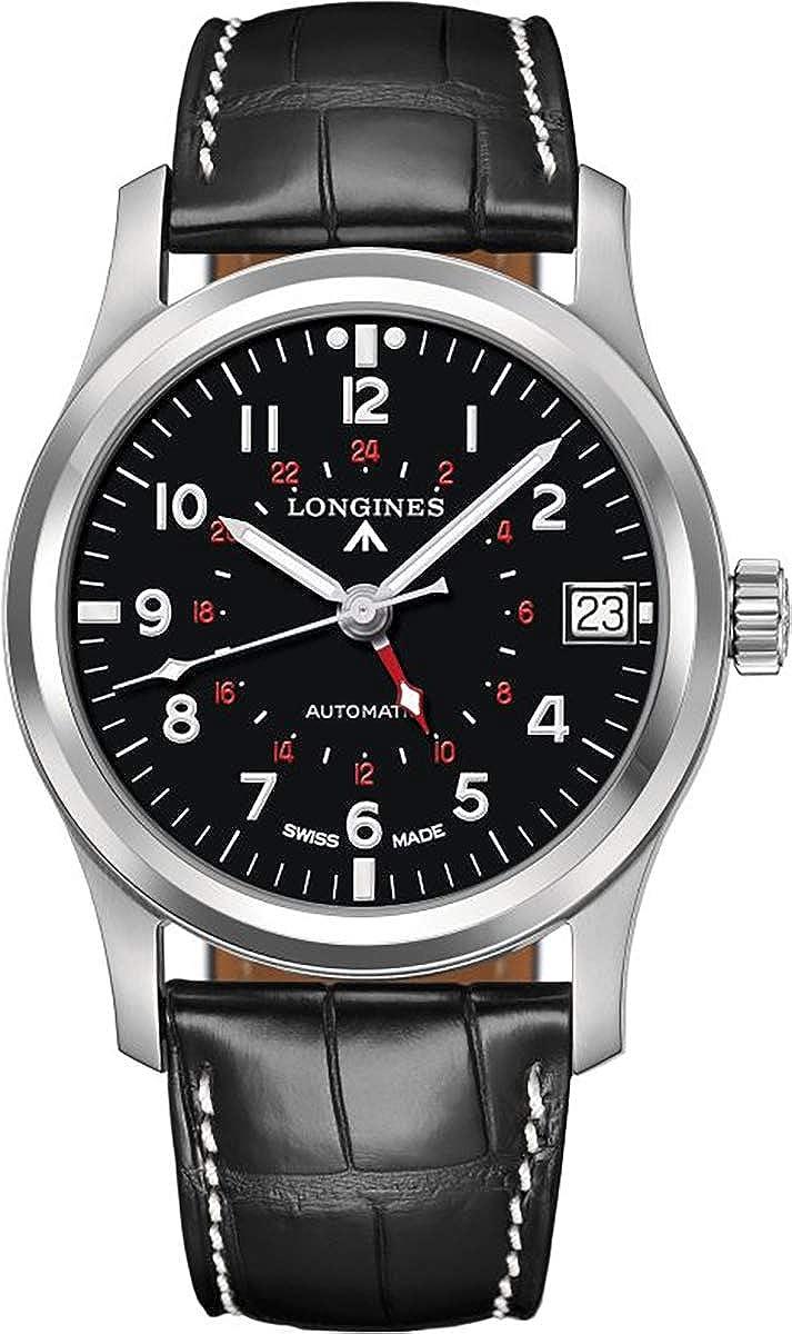Longines Heritage GMT Mens Watch L2.831.4.53.0