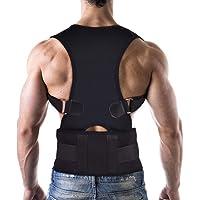 Corrector de Postura con Soporte Respirable, Vendaje de Elástico en la Cintura del Hombro para Hombres y Mujeres