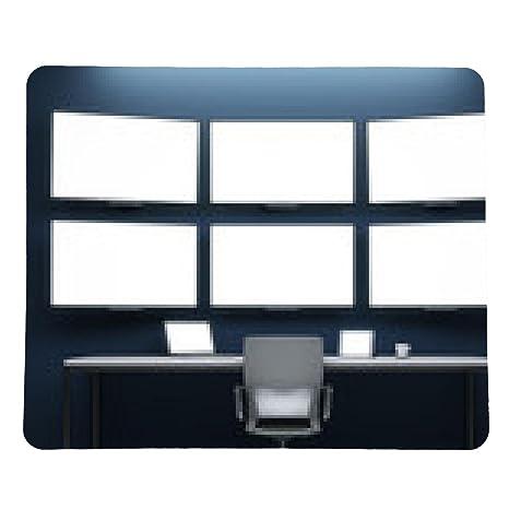 alfombrilla de ratón cuarto oscuro con pantalla de vídeo: Amazon.es ...