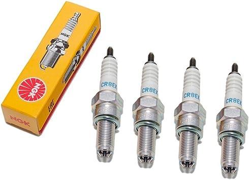 /4x CR8EK for Suzuki GSF//GSX Spark Plug Set Ngk/