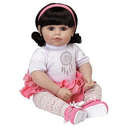 3c63de1be0 Image Unavailable. Image not available for. Color  Adora Toddler  quot Free  Spirit quot  20 quot  Girl Weighted Doll Gift Set for Children