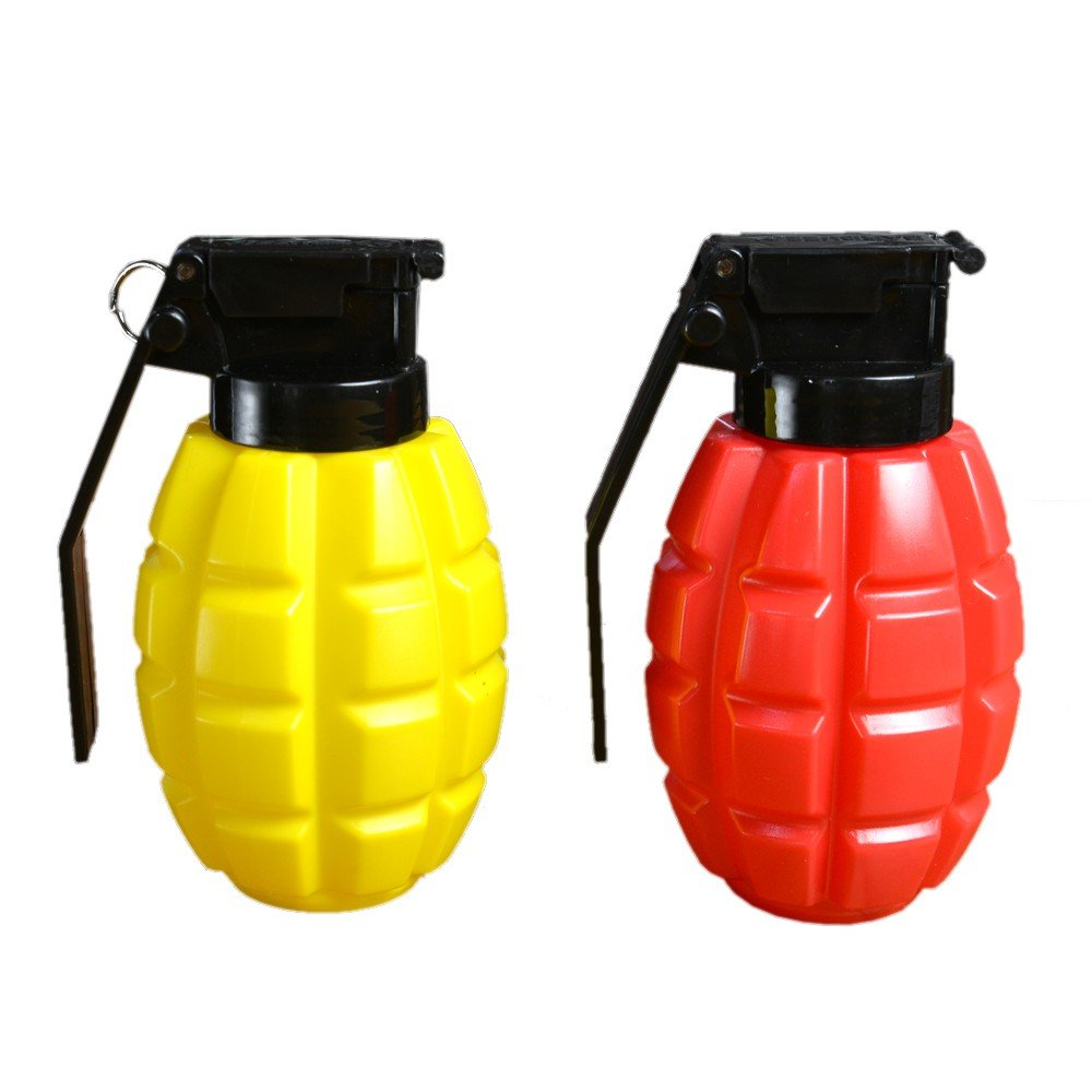 Caliber Gourmet Condiment Dispensers, Plastic, Red/Yellow CBG-1005