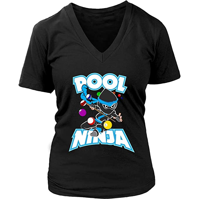 Amazon.com: Camiseta Ninja de Pool – Billiards Snooker ...