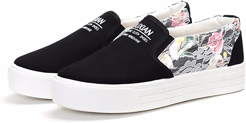 Womens Canvas Pumps Summer Beach Slip On Fashion Comfortable Glamourous Size