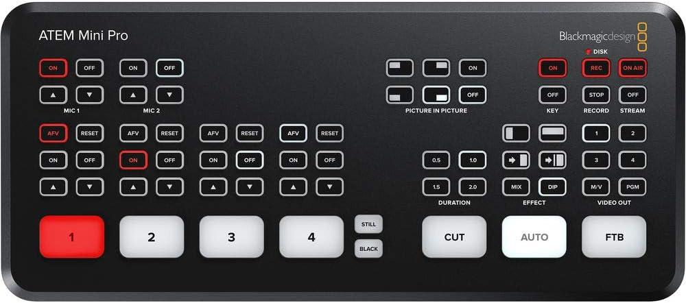 ATEM Mini Pro Blackmagic Design HDMI Live Stream Switcher (Authorized Reseller)