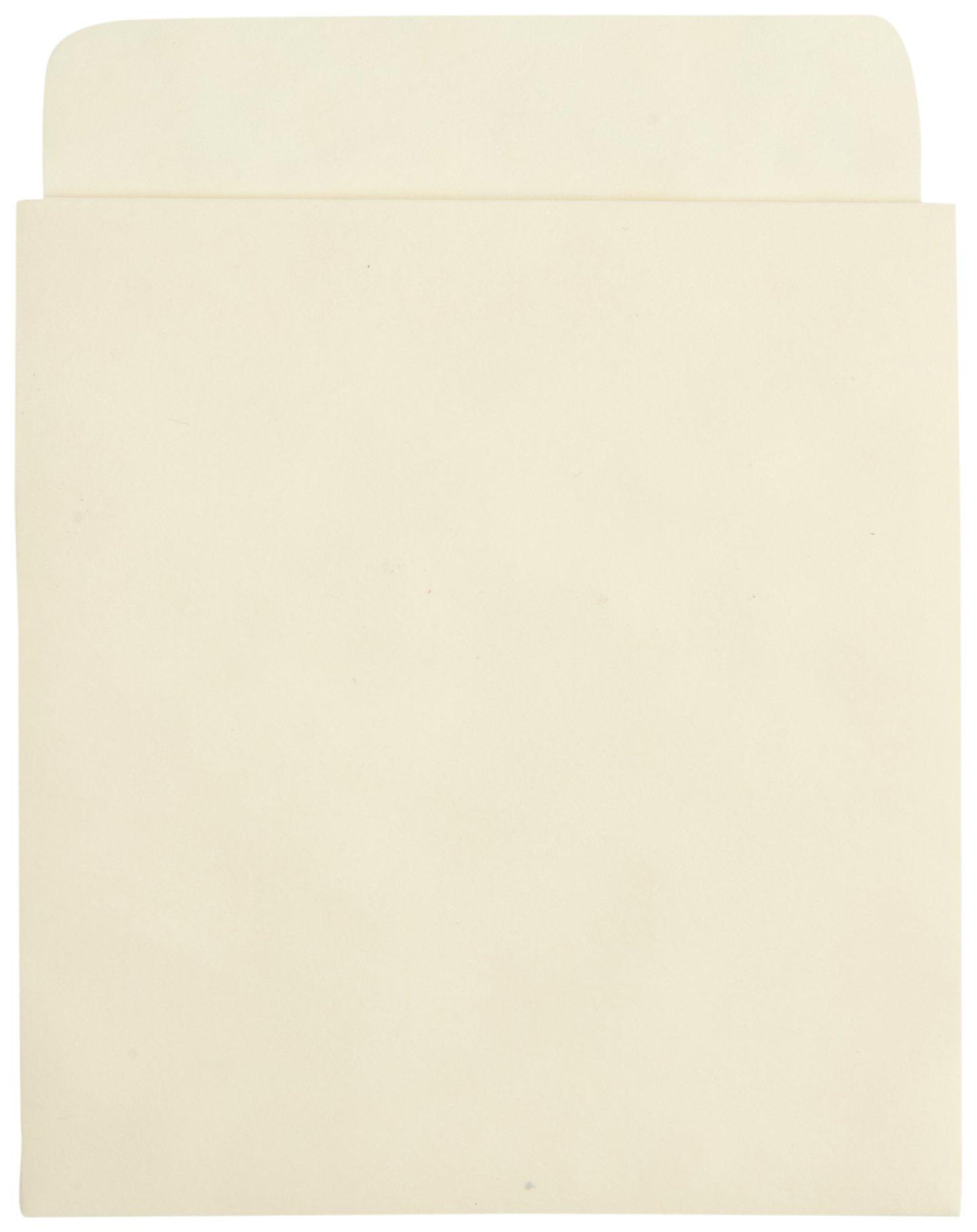 Kapco Standard Back Self-Stick Book Pocket, 3-1/2 x 4-1/2 Inches, Manila, Pack of 500 - S/PSB
