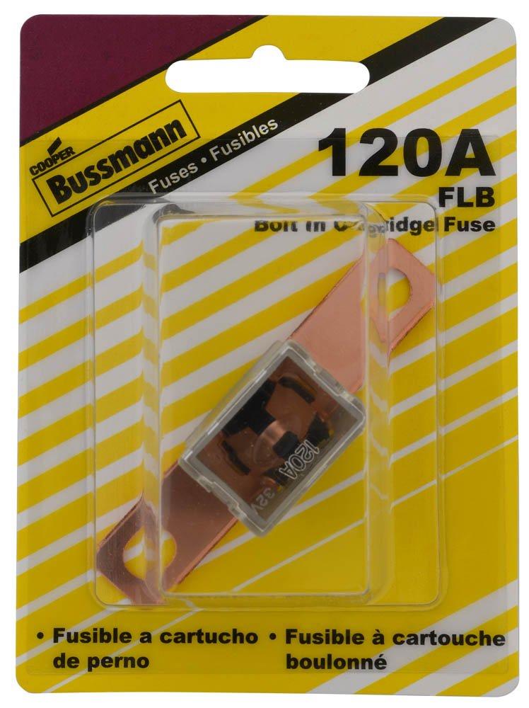 120 Amp Bolt-on Fusible Link with 13//16 Bolt Terminal Bussmann BP//FLB-120-RP