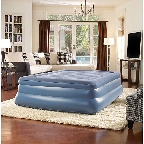 "Simmons Beautyrest Full 19"" Sky Rise Raised Pillowtop Air Be"