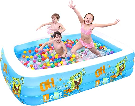 Piscina Hinchable, Gran Piscina Familiar Inflable, Piscina Marina De Bolas, Piscina para Niños 308 Cm (Color : Blue): Amazon.es: Hogar