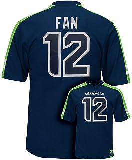 33b5f8ddaae1 ... Seattle Seahawks 12th Fan NFL Mens Majestic Hashmark Jersey Navy Blue  Big Tall Sizes Toni Kukoc ...