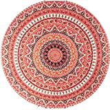 35 exercises for designers - Hatop Round Hippie Tapestry Beach Throw Mandala Towel Yoga Mat Bohemian (Orange)