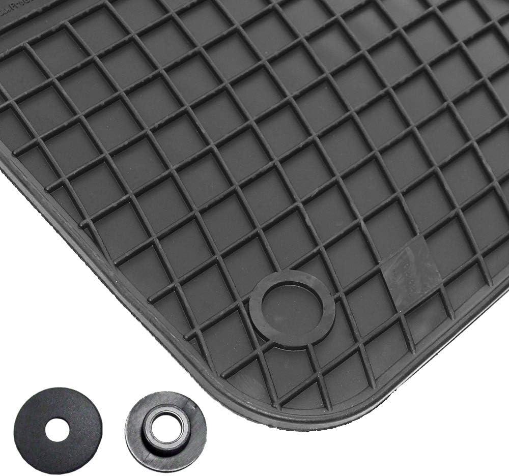 AfC vW04500 g-ensemble de tapis de sol en caoutchouc