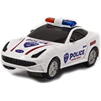 Toysale Kids Bump and Go 3D Lights Police Car with Sound and Wheels with Light (Police Car)