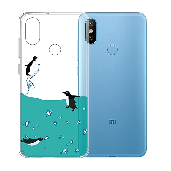 Amazon.com: Xiaomi Mi A2 / Mi 6X Case,JIENI Transparent ...
