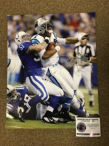Pat Angerer Signed Autographed Indianapo - Indianapolis Colts Signed 16x20 Photo Shopping Results