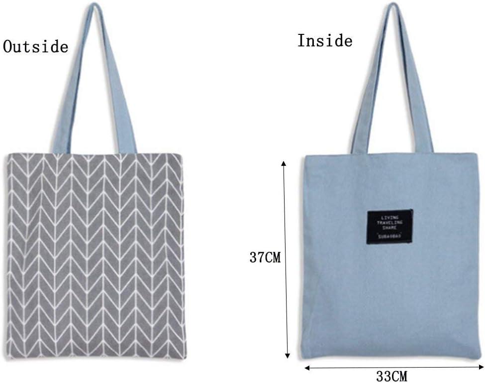 LAAT Bolsa para la compra plegable y reutilizable – Bandolera de algodón, una solución ecológica para ir al mercado – 5 colores, gris, 37x33cm: Amazon.es: Juguetes y juegos