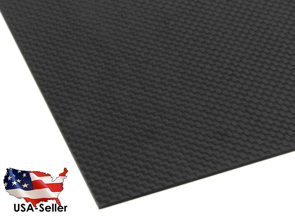 Carbon Fiber Sheets 100% 3K by ACER Racing (200x300x3mm)