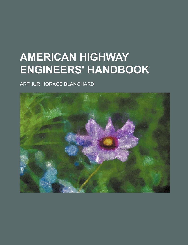 Download American highway engineers' handbook ebook