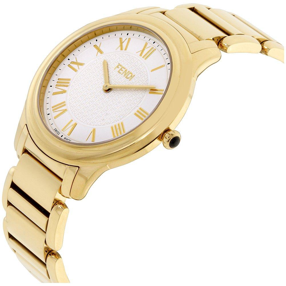 Fendi Mens white dial, stainless-steel bracelet watch F251414000XG (Certified Refurbished) by Fendi (Image #2)
