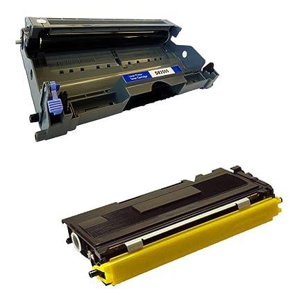 Bramacartuchos - TAMBOR compatible DR2000 + CARTUCHO compatible TN2000 PARA IMPRESORAS BROTHER DCP 7010L, DCP 7010, DCP 7020, DCP 7025, Fax 2820, Fax ...