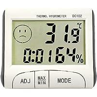 Szaerfa Medidor de Humedad Digital LCD Termómetro Caliente