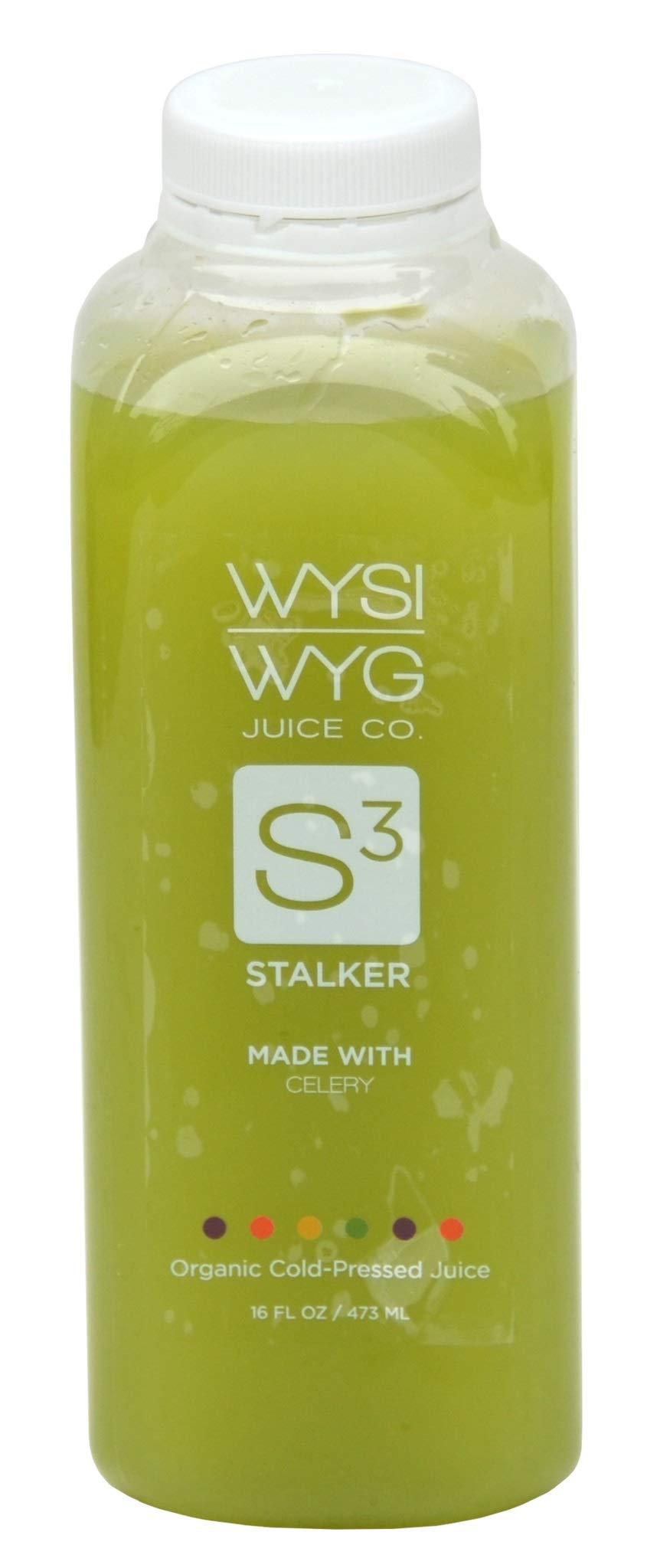 WYSIWYG Cold Pressed Plant Powered STRAIGHT UP Celery Juice (6pk 12oz)