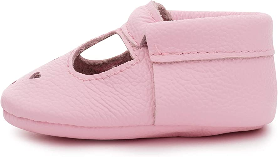 Genuine Leather Soft Sole Baby Girl