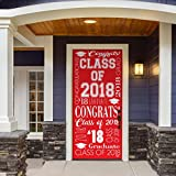Victory Corps Collage Red - Outdoor GRADUATION Garage Door Banner Mural Sign Décor 36'' x 80'' One Size Fits All Front Door Car Garage -The Original Holiday Front Door Banner Decor