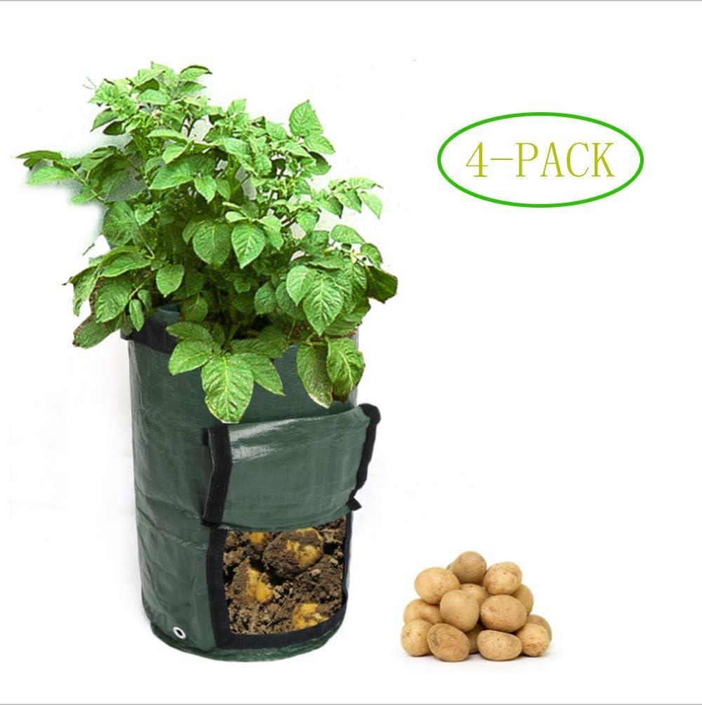 UOEYA Bolsas para Cultivo de Patata, 7 galones, Bolsa de macetas ...