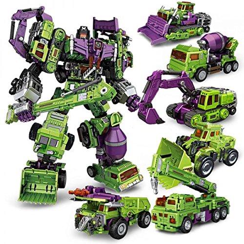 NBK TF ENGINEERING/Trailer/Forklift/bulldozer/Navvy 변형 합체 !6 체세트 수량 한정! [병행수입품]