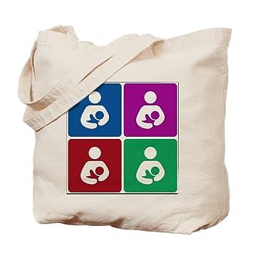 CafePress - Pop icono de la lactancia materna - Gamuza de ...