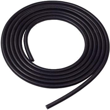 , Black Universal Silicone Vacuum Hose Line 5 Feet Length Inner Diameter ID 6MM 1//4 Inch