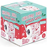 #9: Christmas Joke Themed Toilet Paper Roll - A Chuckle On Every 4