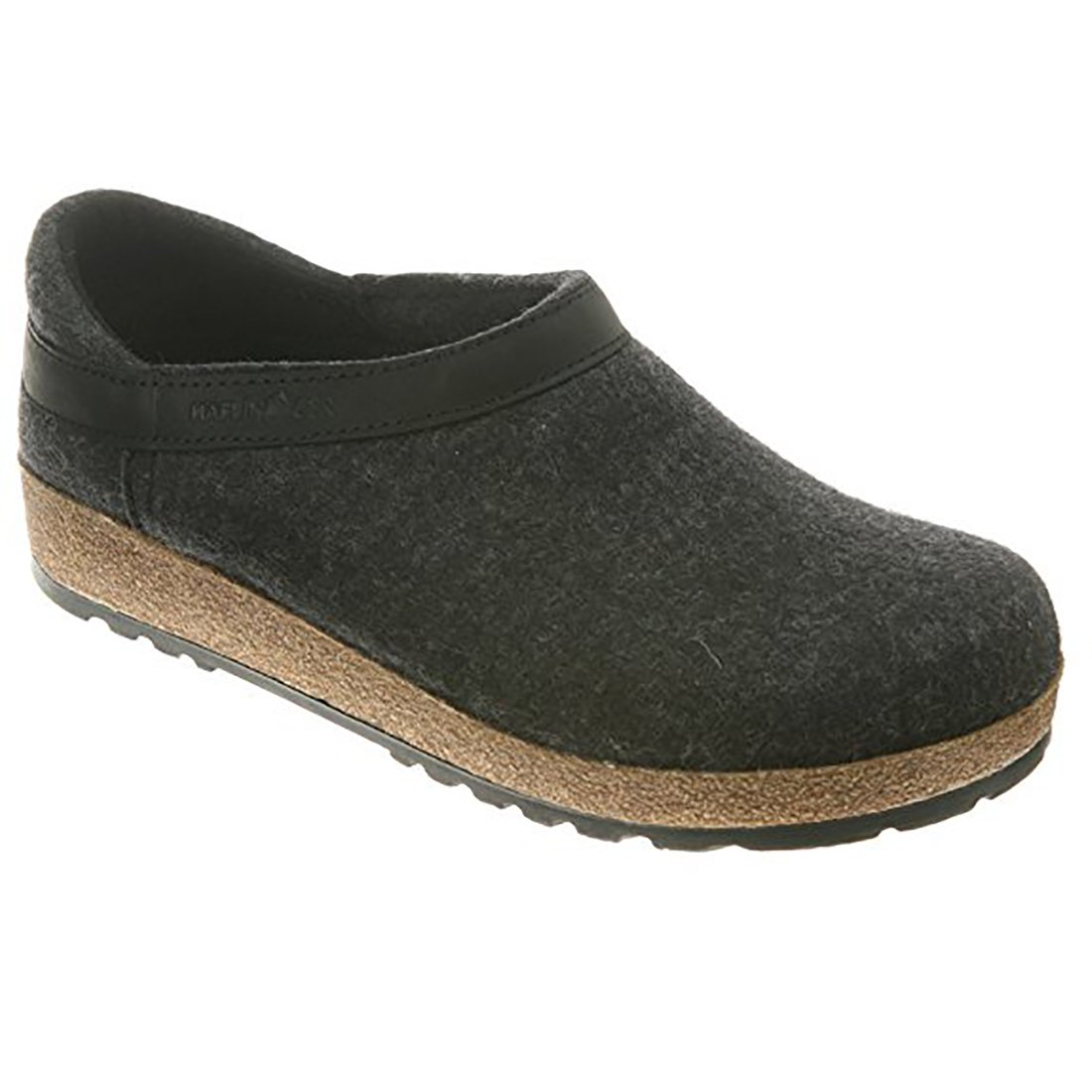 Haflinger GZH 714003 3 77 Graphit Slipper Size: EU 46 (US Mens 13); GZH44 Charcoal