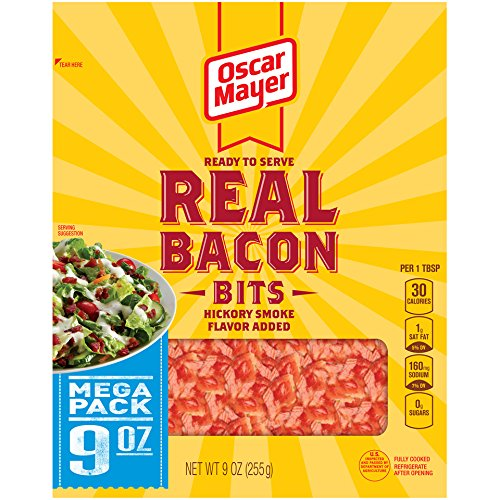 Oscar Mayer Real Bacon Bits, Hickory Smoke, 9 Ounce (Packaging May - Real Pieces Bacon