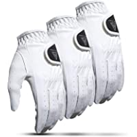 VG 2019 Men's All Weather 2.0 White Golf Glove - Left Hand (Pack of 3)