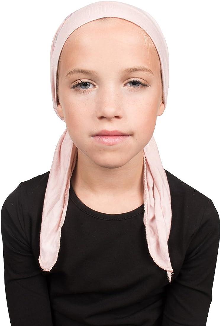 Kite Applique on Childs Pretied Head Scarf Cancer Cap