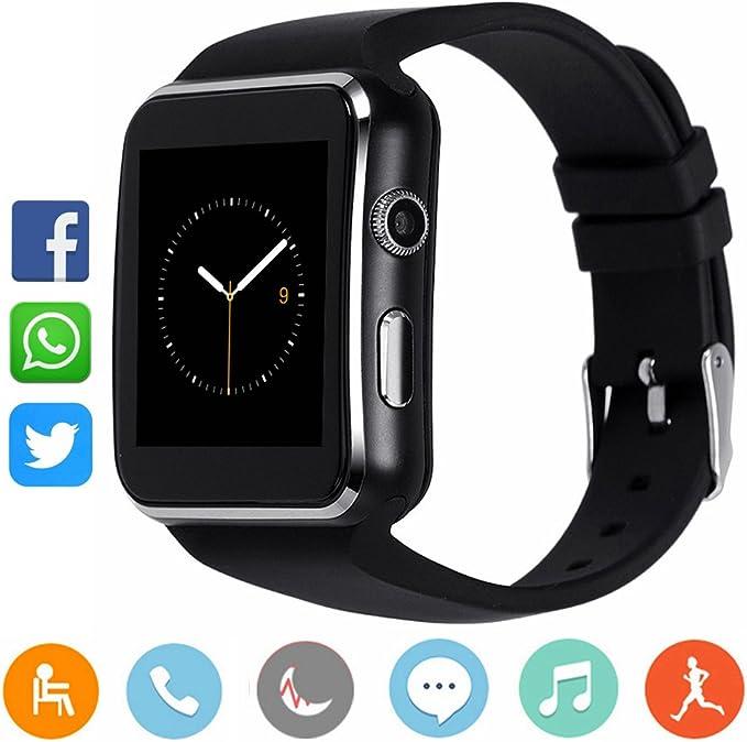 Smartwatch CanMixs CM03 Bluetooth Reloj elegante Sport Muñequera ...