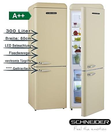Schneider SL300 C CB a + + Retro Diseño nevera y congelador ...