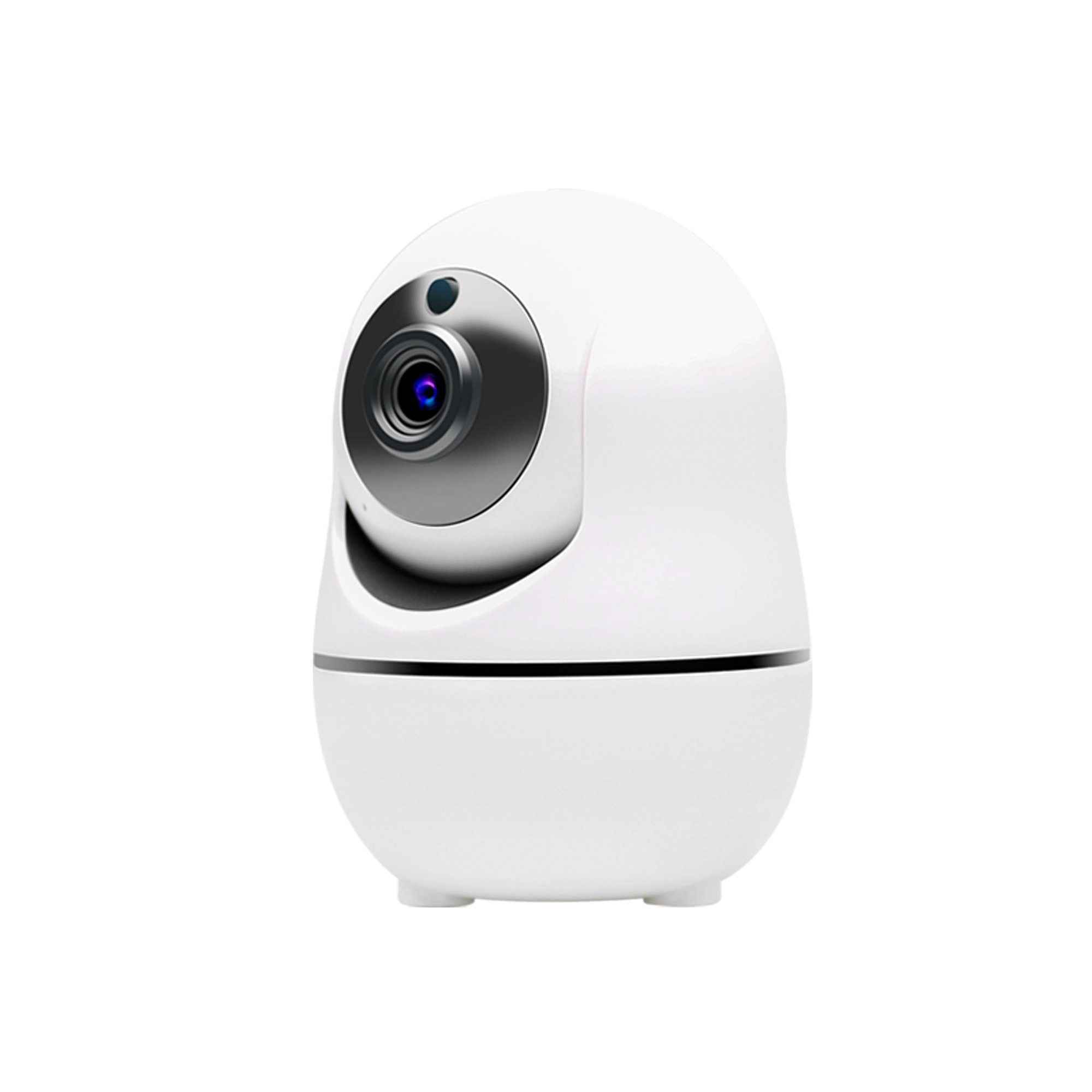 Ouvis VZ1 1080 HD Pan/Tilt/Zoom Wireless WiFi Security Camera, Smart Home IP Camera, Video Surveillance System with Motion Detection, Siren Alarm, Two-way Audio, Night Vision, and APP for Android/iPhone/iPad/Tablet, White