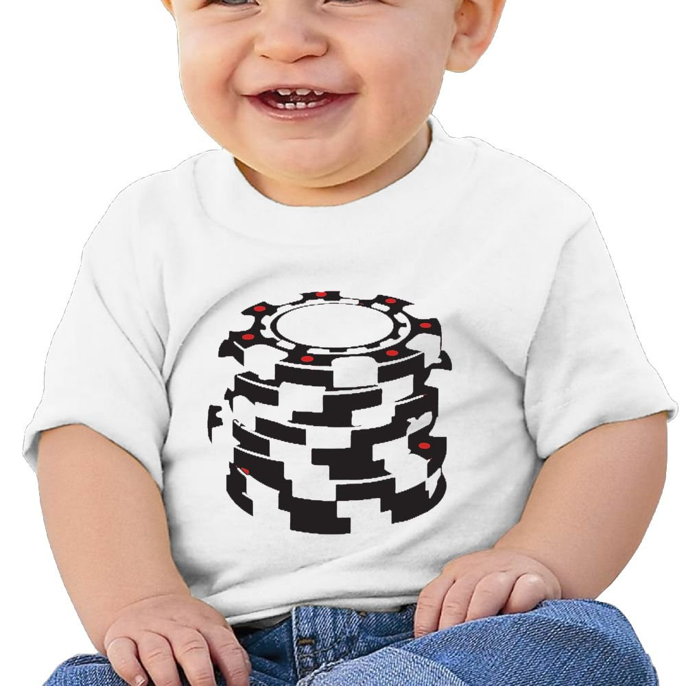 Game Chips Baby Boy Clothes Short Sleeve Graphic Toddler T Shirt Boys Girls 6-24 Month