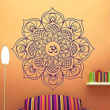 BFMBCH Mandala Tatuajes de pared Dormitorio Símbolo budista Vinilo ...