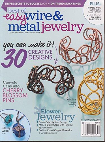 Best of Easy Wire & Metal Jewelry Magazine 2017 (Wire Easy Jewelry)