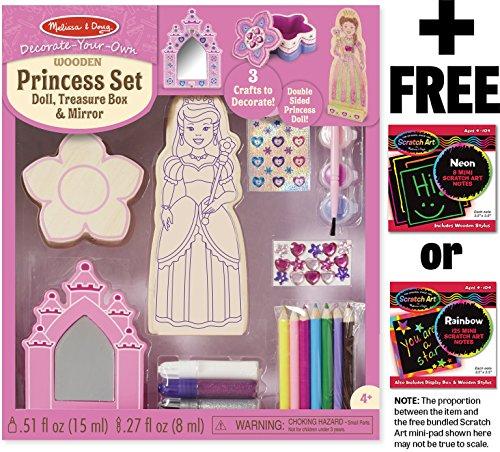 Princess Decorate Your Own Melissa Doug Mini Pad