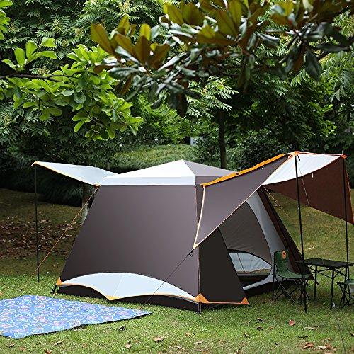 Xmaker Kamele Erhöhen, Erhöhen Automatische Zelt, Regensturm, Outdoor-Doppel 3-4 Personen, 5-6 Personen, Multi-Familien-Zelt.