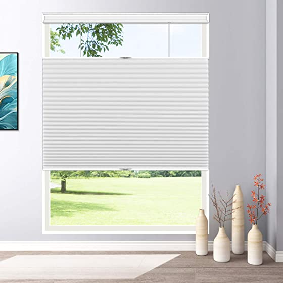 Keego Blackout Window Blinds Top Down Bottom Up Cordless Cellular Shade