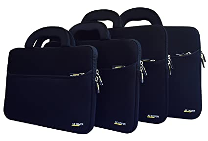 Amazon.com  AZ-Cover 12.5 Inch Laptop Sleeve case (Black) For Dell ... 0ca3a82ab1